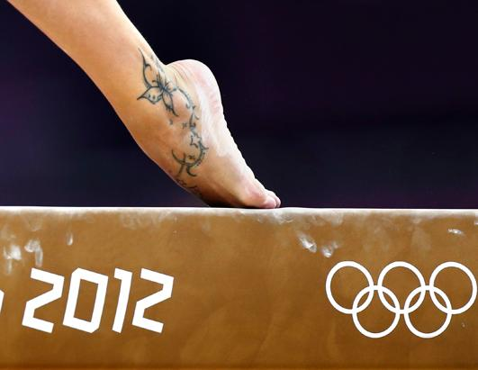 Olympic Athlete Tattoos