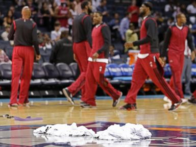 Heat Follow Suit With Clippers, Dump Warmups in Sterling Protest