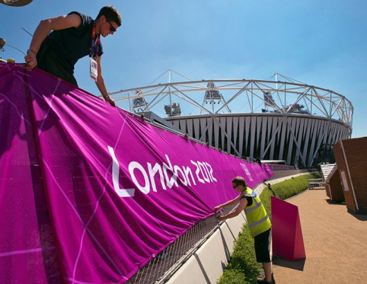 Behind the Scenes of the Upcoming 2012 London Olympic Summer Games