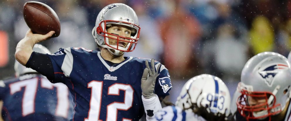 PHOTO: New England Patriots quarterback Tom Brady passes against the Indianapolis Colts during the second half of the NFL football AFC Championship game, Jan. 18, 2015, in Foxborough, Mass.