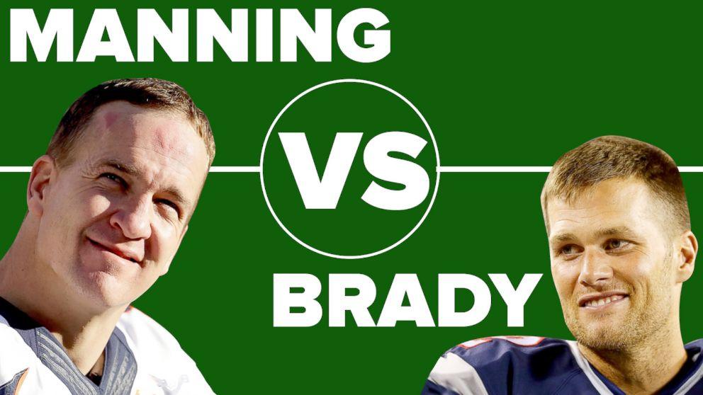 Peyton Manning And Tom Brady Photos Tom Brady vs Peyton Manning