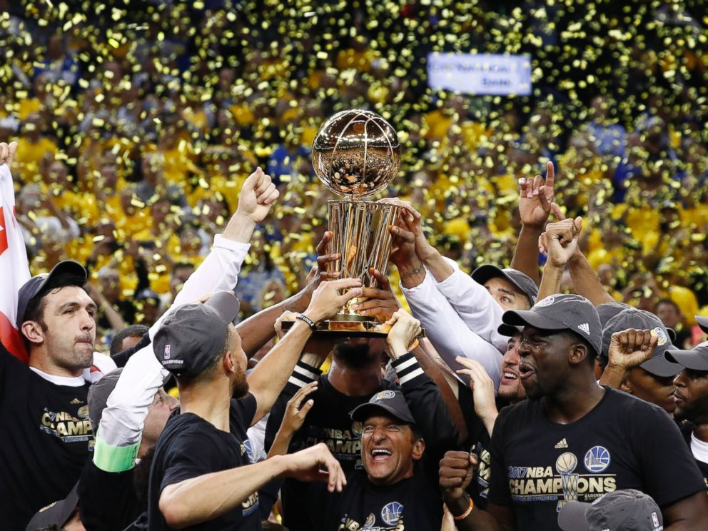 Kevin Durant gets long-awaited NBA championship after Warriors win 2nd title in 3 years over ...