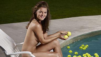 PHOTO: Agnieszka Radwanska posing nude