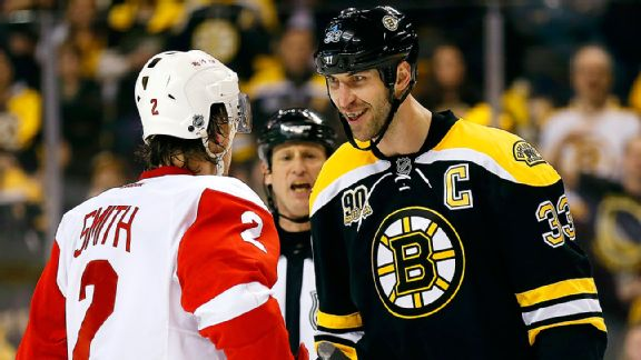 Zdeno Chara, Brendan Smith