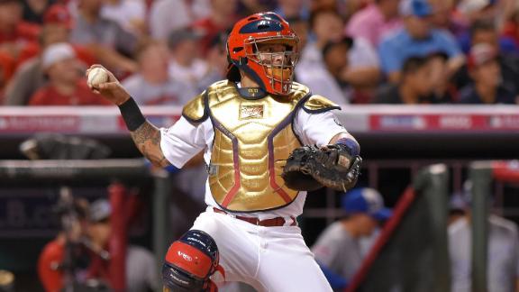 Yadier Molina Gold Glove Tattoos