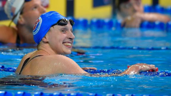 Ledecky punches ticket to Rio with fastest 400m freestyle of 2016