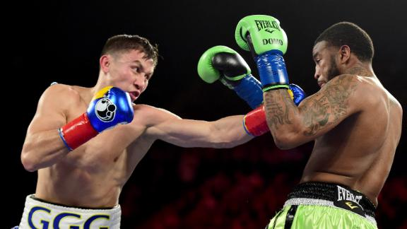 Fear fires up Kell Brook to finish Gennady Golovkin's fantastic run