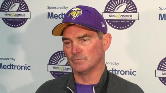 Vikings' Zimmer has another surgery on right eye