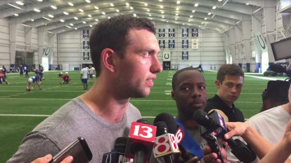 Andrew Luck unsure whether he'll be ready for training camp