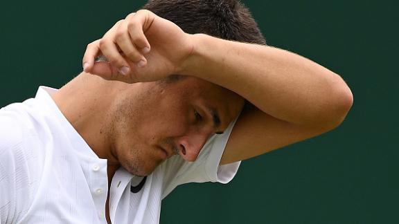 Major Sponsor Pulls Pin On Tomic After Wimbledon Shocker