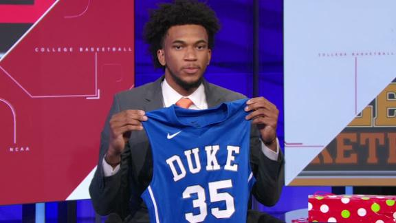No. 1 recruit Marvin Bagley chooses Duke; will play this season
