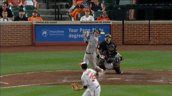 Boog Powell's First Home Run Lands Near BBQ Station of Namesake