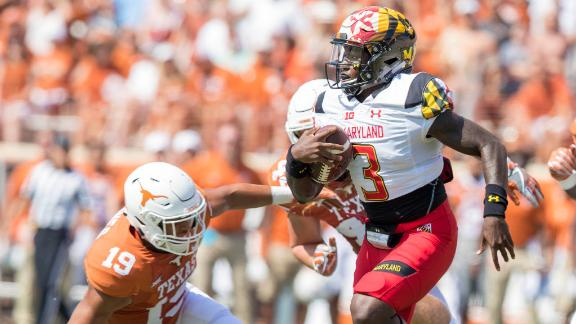Maryland throttles Texas 51-41 in Tom Herman's first game