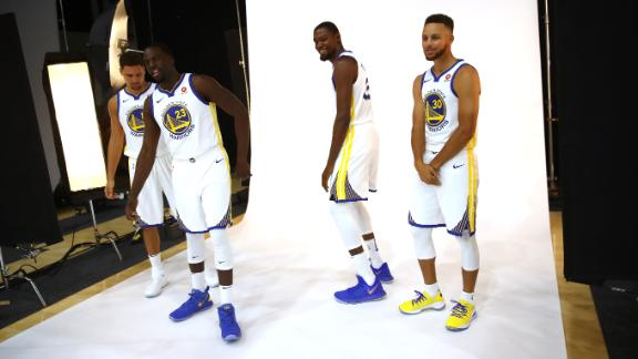 Draymond Green laughed in Kevin Durant's face after his social media mess