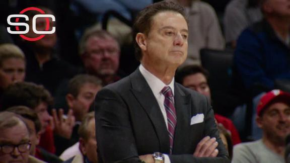 Fired Louisville basketball coach Pitino sues Adidas