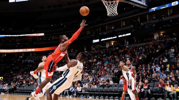 Beal Scores 20 Points, Wizards Beat Nuggets 109-104