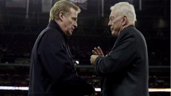 National Football League  could punish Jerry Jones for trying to stop Roger Goodell's deal