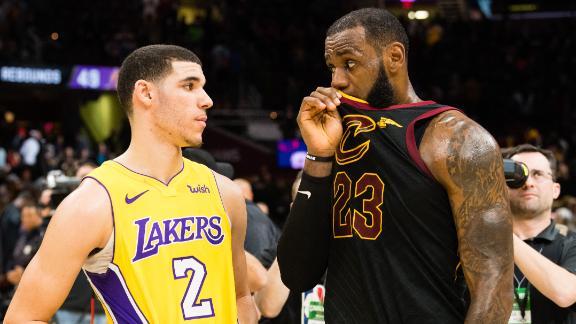 LeBron James Gets Historic Triple-Double, Cavs Beat Lakers 121-112