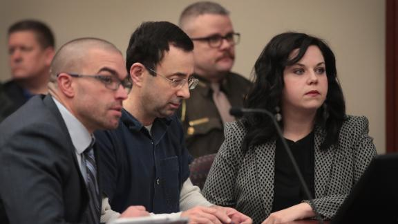 Father attempts to attack Nassar during victim testimonies