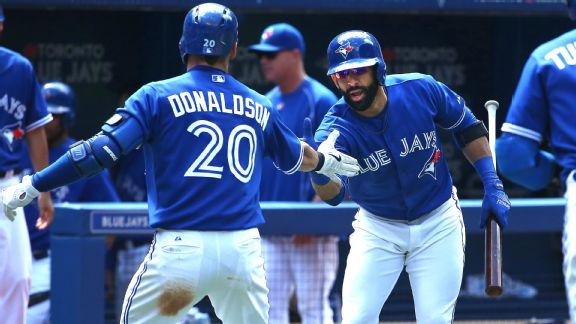 Josh Donaldson and Jose Bautista