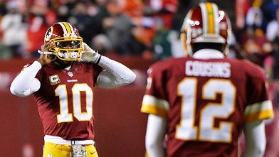 Robert Griffin III and Kirk Cousins