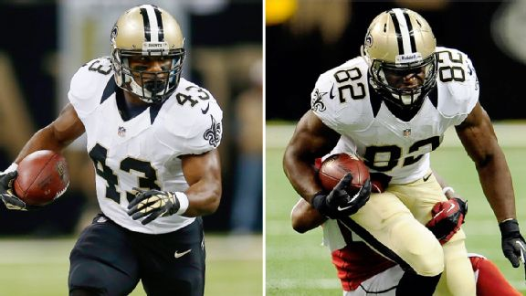 Darren Sproles and Benjamin Watson
