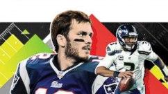 Tom Brady, Russell Wilson