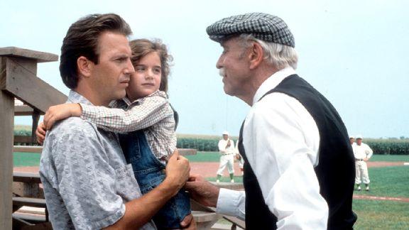 Kevin Costner and Burt Lancaster