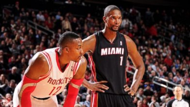Dwight Howard and Chris Bosh