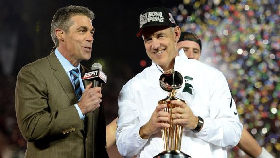 Chris Fowler and Mark Dantonio