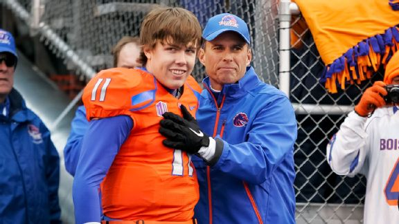 Kellen Moore, Chris Petersen