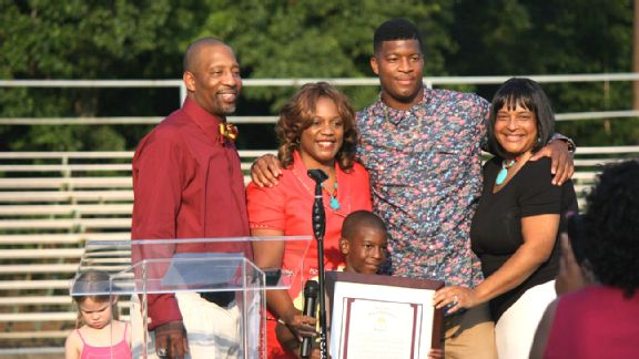 Jameis Winston Day in Hueytown