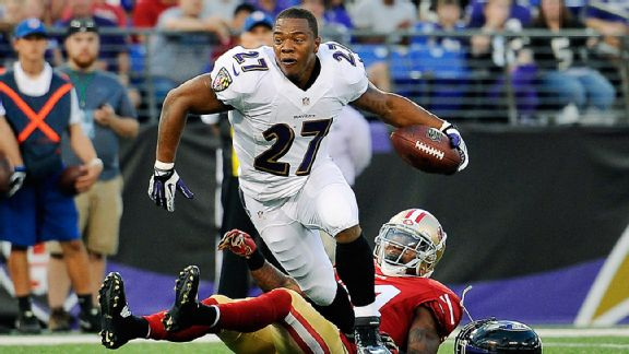 Ray Rice, Antoine Bethea