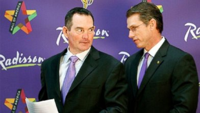 Mike Zimmer and Rick Spielman