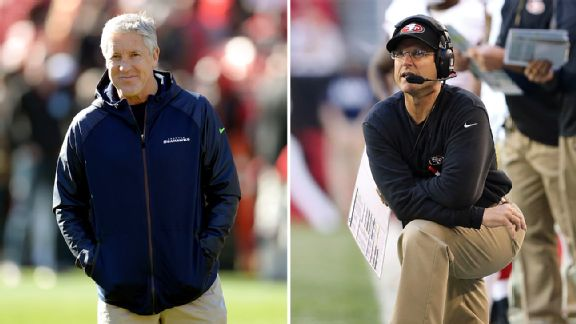 Pete Carroll and Jim Harbaugh