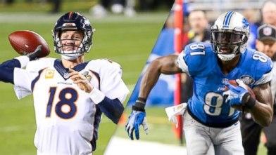 Peyton Manning, Calvin Johnson