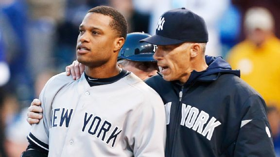 Joe Girardi and Robinson Cano
