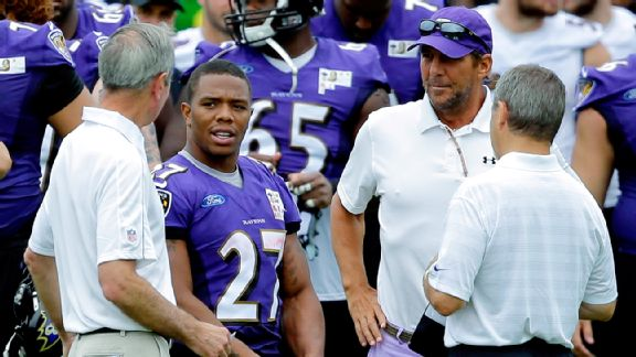 Ray Rice and Steve Bisciotti