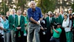 Arnie at masters
