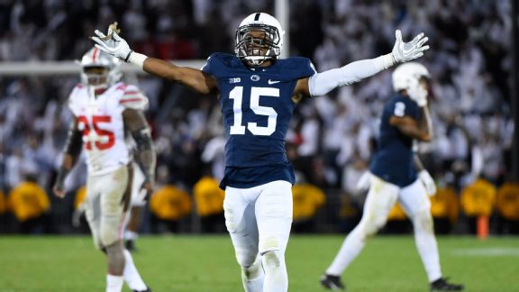 Penn State football celebrates division title