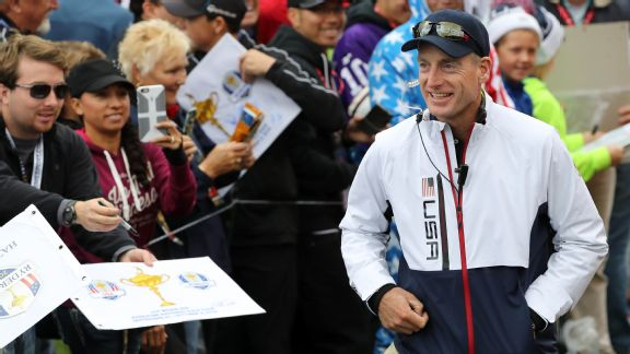 There could be one fly in Ryder Cup ointment with Furyk in charge