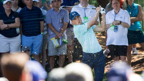Celebrating the differences of Spieth, Weekley at Travelers