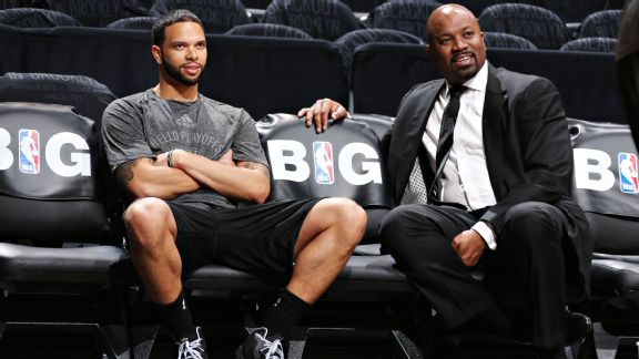 Billy King and Deron Williams
