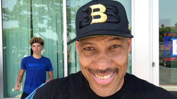 Big Baller Dad: Don't read anything into Lonzo Ball wearing Nike