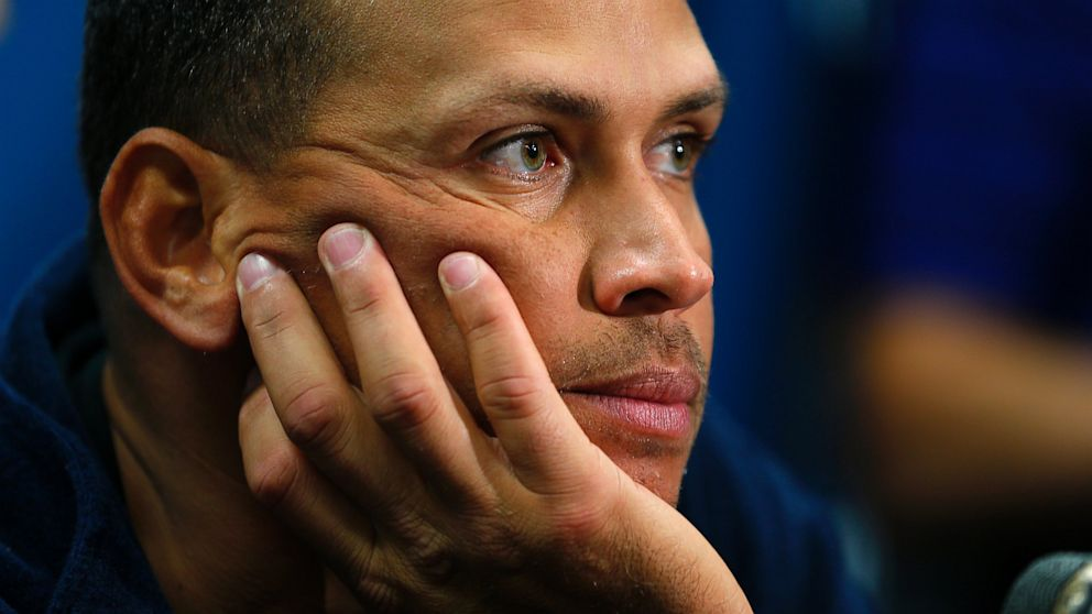 PHOTO: Alex Rodriguez of the New York Yankees