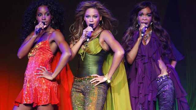 PHOTO: Kelly Rowland, Beyonce Knowles and Michelle Williams of Destiny's Child, in this undated file photo.