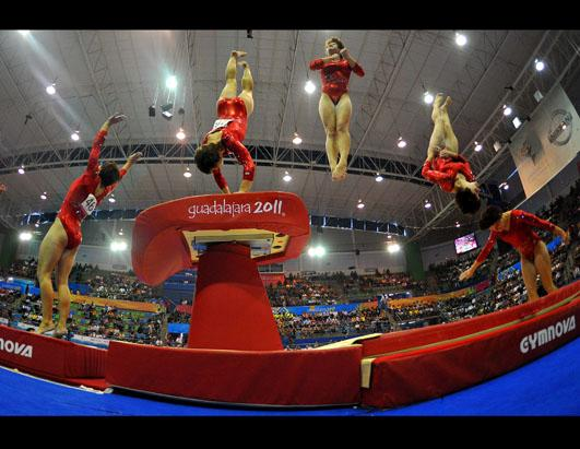 Amazing Images of Gymnasts In Motion