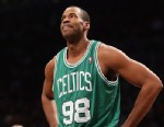 PHOTO: Jason Collins of the Boston Celtics takes a break in the game against  the Brooklyn Nets at the Barclays Center on Nov. 15, 2012 in the Brooklyn borough of New York City.