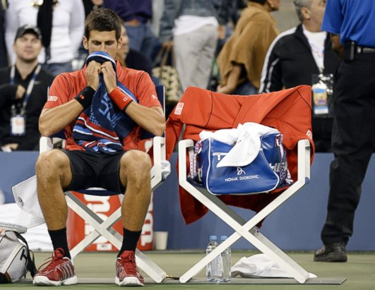 Faces of Victory and Defeat at the US Open