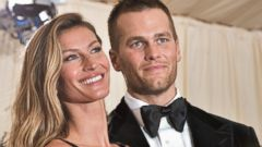 PHOTO: Gisele Bundchen and Tom Brady attend the Costume Institute Gala at the Metropolitan Museum of Art on May 5, 2014 in New York City.